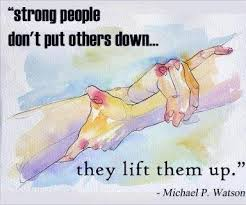 lifting up