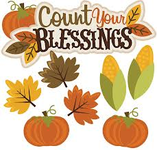 Counting Blessings Thanksgiving
