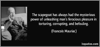 francois scapegoat