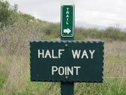 half way point