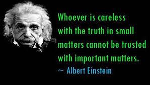 Einstein's lies