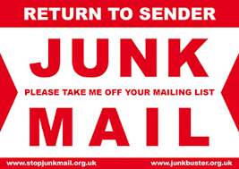 RETURN TO SENDER"